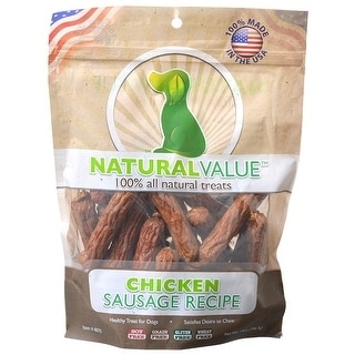 Link to Loving Pets Natural Value Chicken Sausages 14 oz Similar Items in Dog Food & Treats