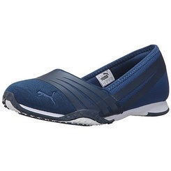 PUMA Women's Asha Alt 2 Jersey Wn's Sandal, Dark Blue/Bering Sea, 6.5 M US