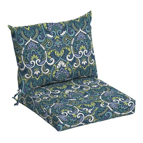 Arden Selections Outdoor 21 x 21 in. Dining Chair Cushion Set - 21 in L x 21 in W x 4 in H