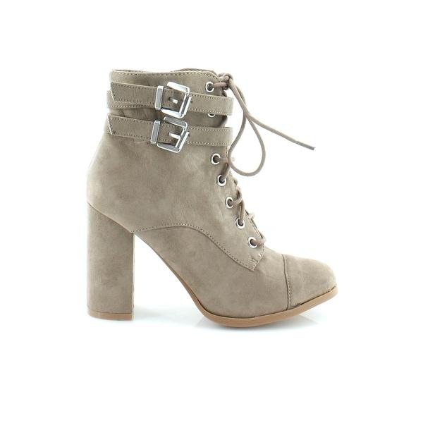 Madden Girl Klaim Women's Boots Taupe