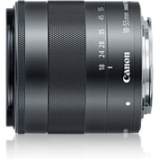 Canon - 18 mm to 55 mm - f/3.5 - 5.6 - Zoom Lens for Canon EF-M - 52 mm Attachment - 0.25x Magnification - 3.1x Optical Zoom - O