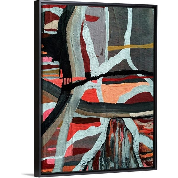 Shop One Body Many Parts Ii Black Float Frame Canvas Art Overstock 30186033