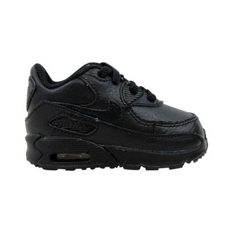 68ab90f51835 Nike Air Max 90 TD Black Black 408110-002 Toddler