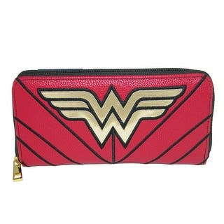 08994b1cd763 DC Comics Women s Wonder Woman Zip-Around Wallet - one size
