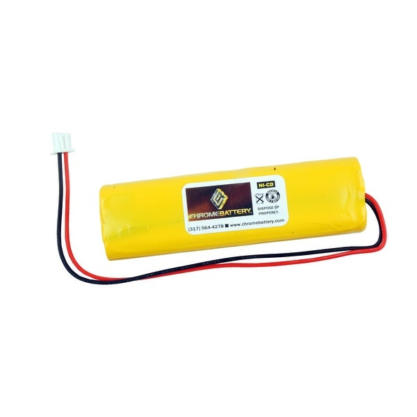 Emergency Lighting Replacement Battery for Dantona - D-AA650BX4