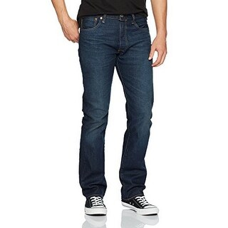 Levis Mens 501 Original Fit Button-Fly Jean, Anchor-Stretch