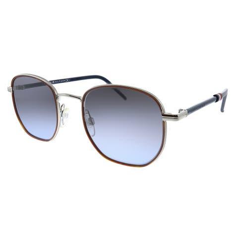 Tommy Hilfiger TH 1672/S 010 Unisex Palladium Frame Grey Gradient Lens Sunglasses