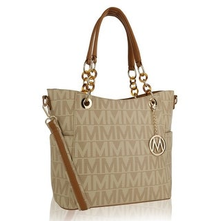 MKF Collection by Mia K Farrow Kissaten Milan M Signature Tote