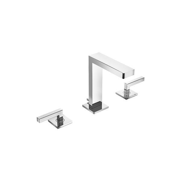 Symmons SLW-3612-1.5 Duro Deck Mount Widespread Bathroom Faucet ...