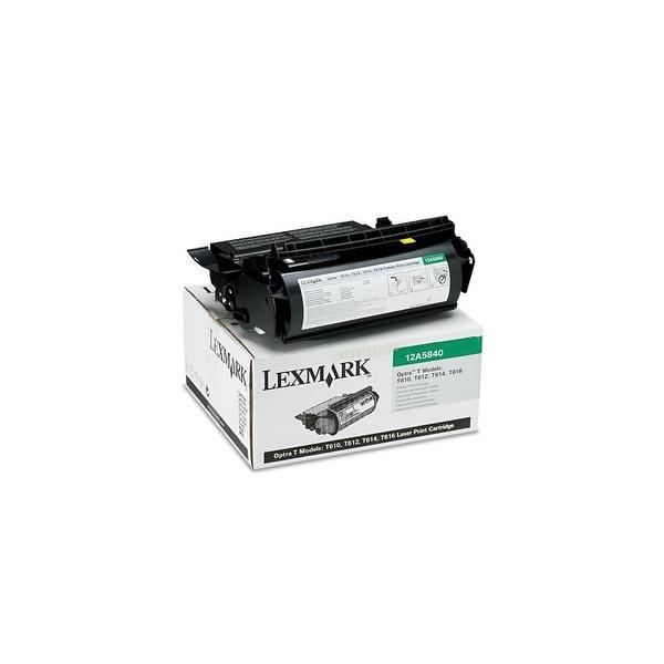 Lexmark Toner Cartridge - Black 12A5840 Toner Cartridge