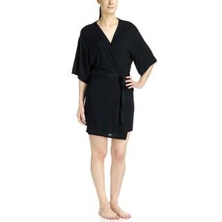 French Dressing Women's Short Wrap Robe