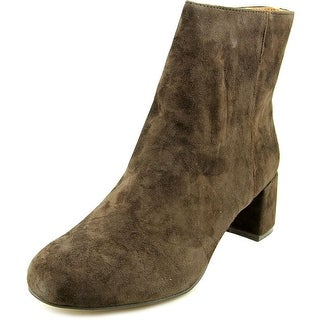 Adrienne Vittadini Louisa   Round Toe Suede  Ankle Boot