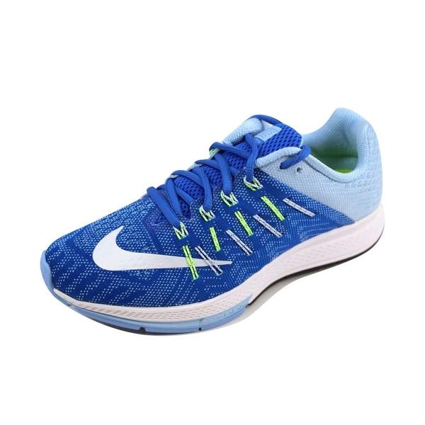 separation shoes bdde5 9bda1 Nike Women  x27 s Air Zoom Elite 8 Hyper Cobalt White-Blue