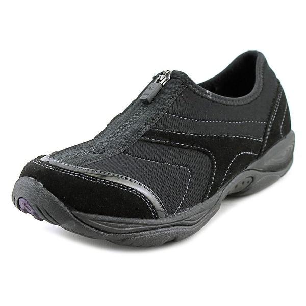 913893eaa5 Shop Easy Spirit Ellicott Women Round Toe Canvas Black Walking Shoe ...