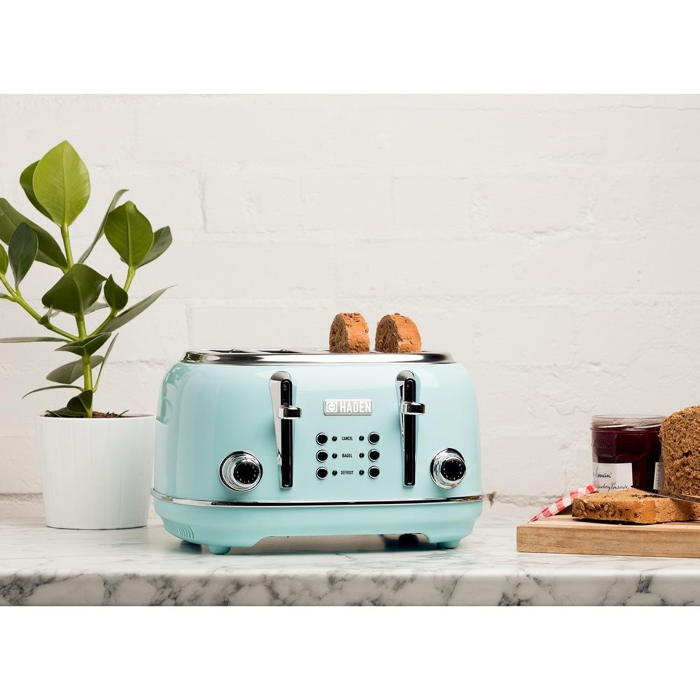 Heritage Turquoise 4 Slice Toaster