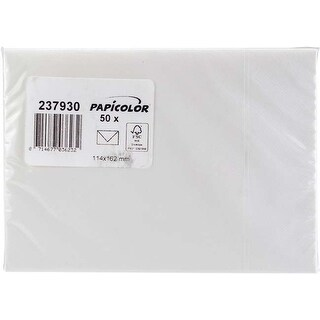 Pearly White - Papicolor A6 Envelopes 50/Pkg
