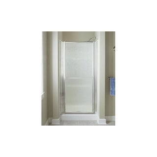 "Sterling 6506-36 Finesse 65-1/2"" High x 36"" Wide Hinged Frameless Shower Door with Clear, Frosted, or Pattern Glass"