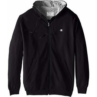 Link to Champion Men's Powerblend Fleece Full Zip Hoodie Similar Items in Big & Tall