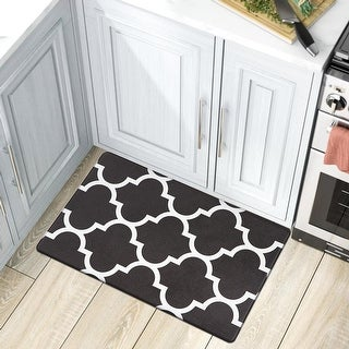 Link to Contemporary Modern Moroccan Trellis Anti Fatigue Standing Mat Similar Items in Transitional Rugs