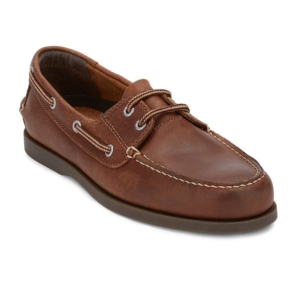 43ba26f10c Shop Dockers Mens Vargas Leather Casual Classic Boat Shoe - Free ...