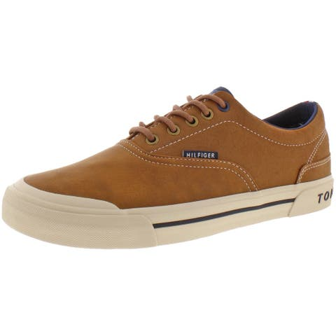 Tommy Hilfiger Mens Pallet 6 Sneakers Leather Low-Top