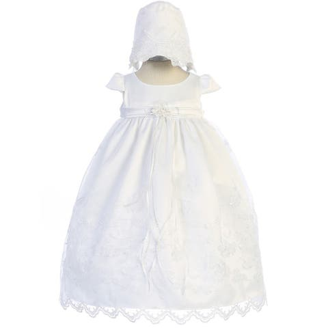 22206ca8b Buy Girls' Christening Gowns Online at Overstock | Our Best Girls ...