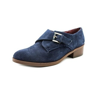 Tommy Hilfiger Bettina Round Toe Suede Loafer
