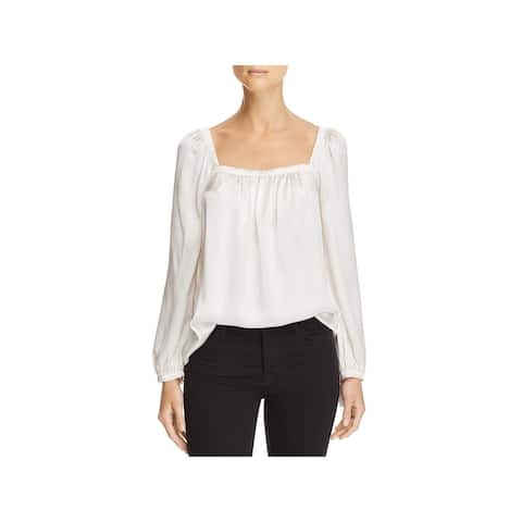 Rebecca Taylor Womens Blouse Silk Night Out