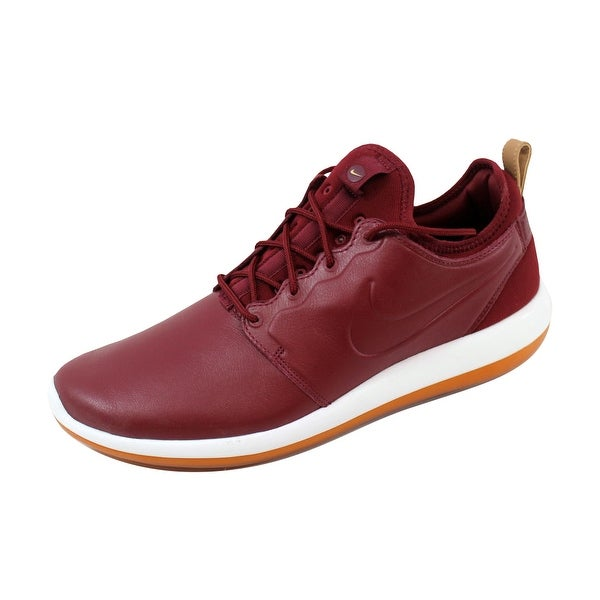 Nike Men's Roshe Two Leather Premium Team Red/Team Red-White 881987-600