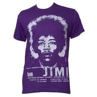 Jimi Hendrix Stencil Purple Heather Short-Sleeve T-Shirt|https://ak1.ostkcdn.com/images/products/is/images/direct/dabcb5f7b40046b1e5b65e23743474994b47a4d9/Jimi-Hendrix-Stencil-Purple-Heather-Short-Sleeve-T-Shirt.jpg?impolicy=medium