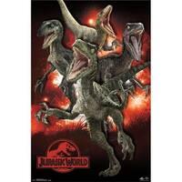 Posterazzi  Jurassic World - Raptors Poster Print - 22 x 34 in.