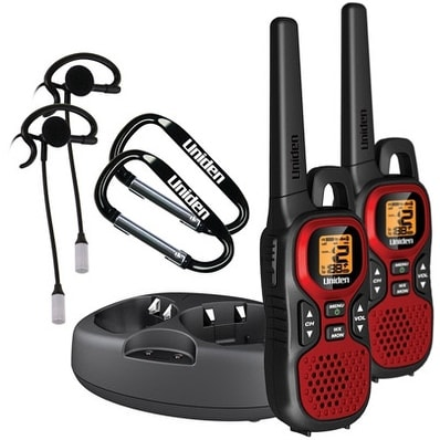 Uniden GMR3040-2CKHS 30 Mile FRS Two-Way Radio 2-Pack w/ 2 Headsets