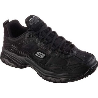 Skechers Men's Work Relaxed Fit Soft Stride Mavin Black