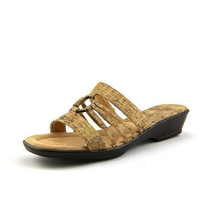 Easy Street Scorch WW Open Toe Synthetic Slides Sandal