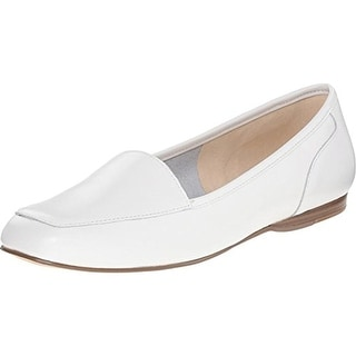 Bandolino Womens BDLiberty Leather Solid Loafers - 10 medium (b,m)