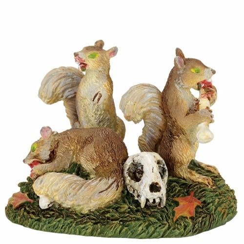 Cross Product Halloween Creepy Creatures Scary Squirrels Figurine