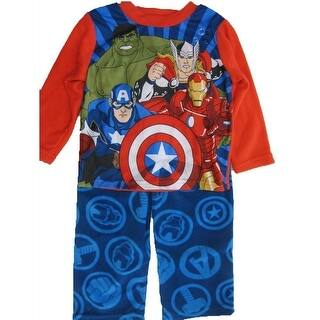 Marvel Boys Royal Blue Avengers Superheroes 2 Pc Pajama Set 8-10|https://ak1.ostkcdn.com/images/products/is/images/direct/dac238b4f5e8772596218da00eff0bd2172c92b4/Marvel-Big-Boys-Royal-Blue-Avengers-Superheroes-2-Pc-Pajama-Set-8-10.jpg?impolicy=medium
