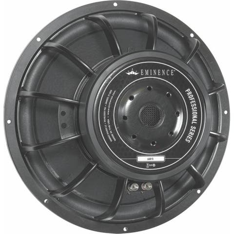 15-Inch Subwoofer Suited For Small Vented Boxes. Also Suitable For Horn Loading.