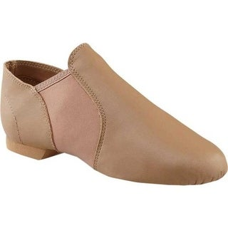 Capezio Dance E Series Jazz Slip On EJ2 Caramel