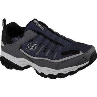 Skechers Men's After Burn M. Fit Slip-On Walking Shoe Navy/Gray
