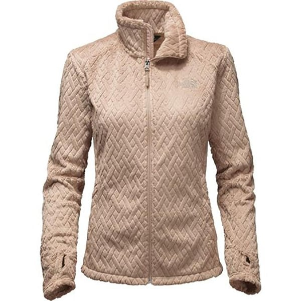 77804b140 The North Face Women's Novelty Osito Jacket Doeskin Brown Basketweave  NF0A2TECNFJ - LARGE