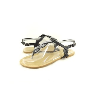 Bamboo Women Armin-01 Flat Sandal With Back Strap