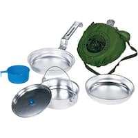 Academy Broadway 50020 Cookware Scout Camp Set, Steel
