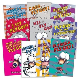 Fly Guy Book Set (Set of 10)