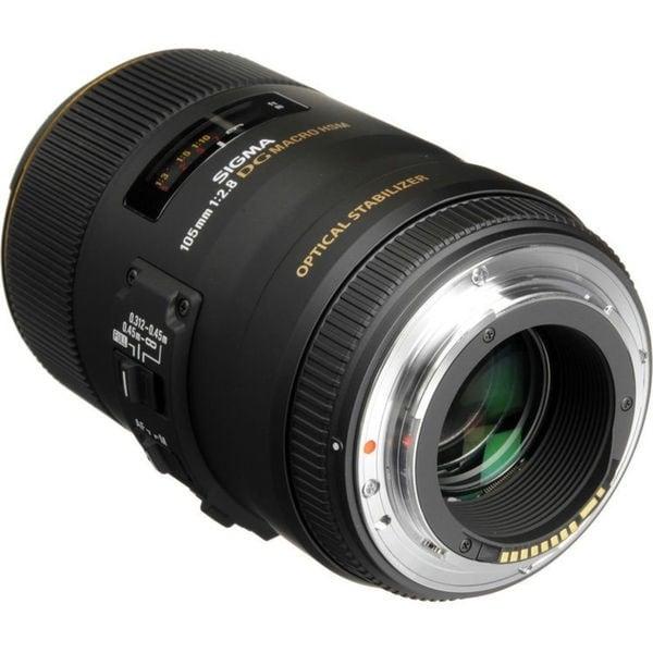 Sigma 105mm f/2.8 Macro Lens for Canon Lens Bundle