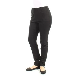 Womens Black Wear To Work Pants Size 4X