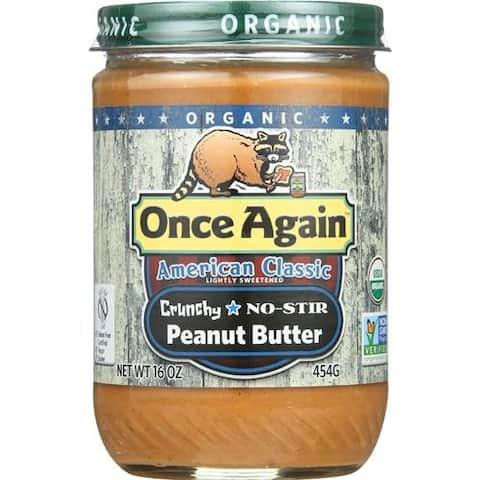 Once Again - Crunchy Peanut Butter ( 12 - 16 OZ)