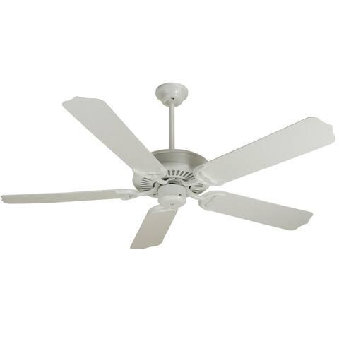 "Craftmade Porch Porch 44"" - 52"" 5 Blade Indoor / Outdoor Ceiling Fan - Requires Blade Selection"