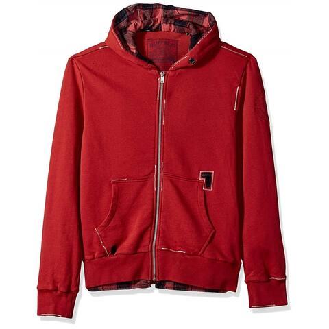 Buffalo David Bitton Mens Fleece-Lined Hoodie Sweatshirt
