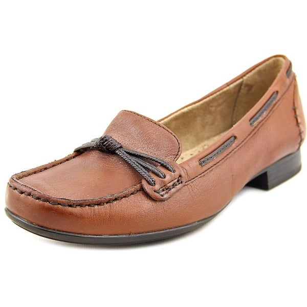 Naturalizer Imagine Women Moc Toe Leather Brown Loafer